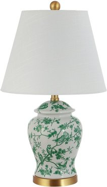 Jonathan Y Penelope 22In Chinoiserie Classic Led Table Lamp