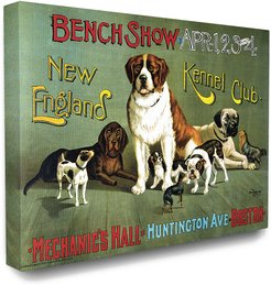 Stupell Vintage Kennel Club Poster