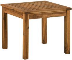 Hewson Acacia Wood Patio Side End Table