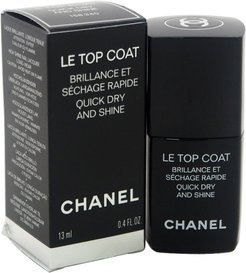 Chanel 0.4oz Le Top Coat Quick Dry and Shine