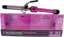 Hot Tools Pink & Silver Pink Titanium Salon 1 in Curling Iron/Wand