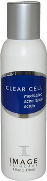 Image 4oz Clear Cell Medicated Acne Scrub