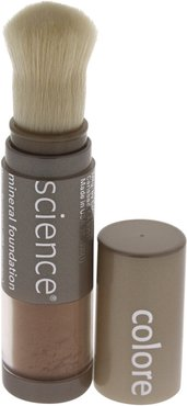 Colorescience 0.21oz Tan Natural Loose Mineral Foundation Brush SPF 20