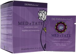 DERMAdoctor 30pc MED e TATE Antiperspirant Wipes
