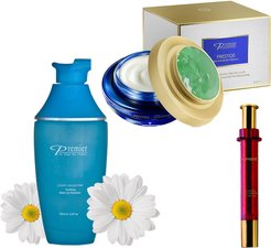 Premier Dead Sea Cosmetics Remove, Peel & Fill 3-Step Skin Firming & Lifting  Treatment Set
