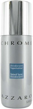 Azzaro Men's 5.1oz Chrome Deodorant Spray