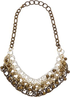 Kenneth Jay Lane Rhodium Plated Necklace