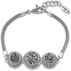 Samuel B. Jewelry Sterling Silver 0.30 ct. tw. Diamond Bracelet