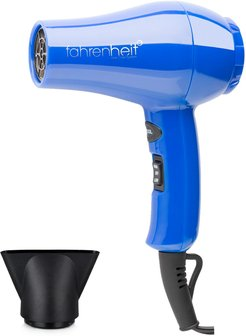 Fahrenheit Mercury Travel Dryer with 1 Concentrator Nozzle