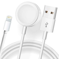 Zunammy Magnetic Charger 2 in 1 USB Cable For Apple Watch iWatch & iPhone