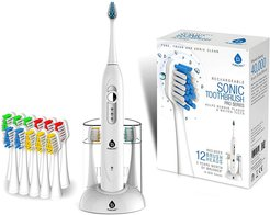 Pursonic S430 High Power Rechargeable Sonic Toothbrush w/ Storage Charger