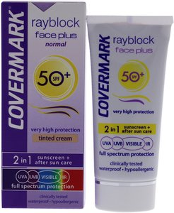 Covermark 1.69oz Rayblock Face Plus Tinted Cream