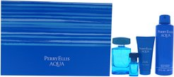 Perry Ellis Men's 4pc Perry Ellis Aqua Fragrance Set