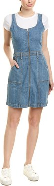 7 For All Mankind Denim A-Line Dress