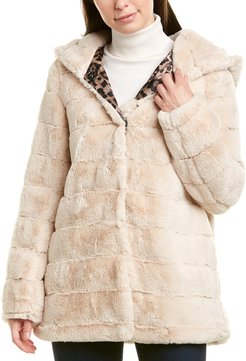 Laundry by Shelli Segal Quilted Cozy Coat