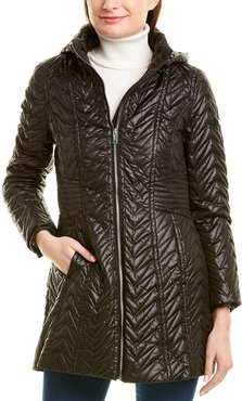 Via Spiga Zig Zag Quilted Jacket