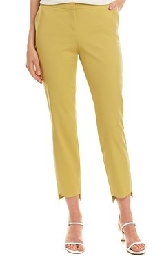 Lafayette 148 New York Manhattan Step Hem Slim Leg Pant