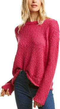 525 America Dropped-Shoulder Wool-Blend Sweater