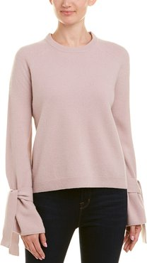 Brown Allen The Wool-Blend Tie Top