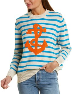 Chinti & Parker Chunky Anchor Sweater