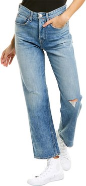 rag & bone Maya High-Rise Ankle Straight Leg Jean