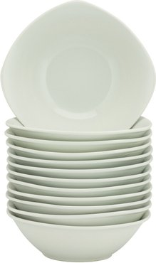 Ten Strawberry Street Set of 12 7in Square Cereal Bowls