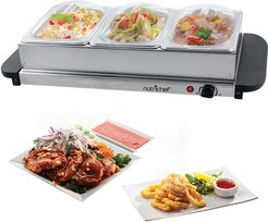NutriChef Food Warming Tray and Buffet Server