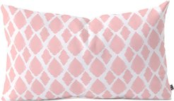Deny Designs Allyson Johnson Blushed iKat Oblong Throw Pillow