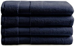 Charisma Heritage American Navy 4Pc Hand Towels