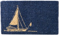 Entryways Sailboat Doormat