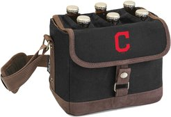 Legacy Beer Caddy' Cooler Tote with Opener with Cleveland Indians Digital Print