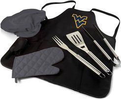 West Virginia Mountaineers BBQ Apron Tote Pro