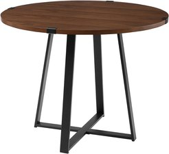 Hewson 40in Farmhousee Wood Dining Table
