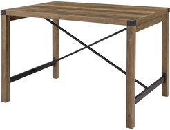 Hewson 48in Farmhouse Wood Dining Table