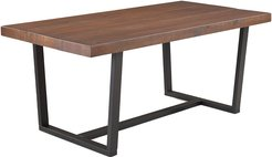 Hewson 72in Distressed Solid Wood Dining Table