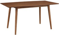 Hewson Solid Wood Mid-Century Modern Kitchen Dining Table