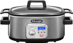 DeLonghi Livenza Slow Cooker With Stovetop-Safe Pot
