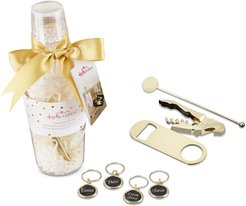 Kate Aspen Barware Gift Set in Clear Acrylic Cocktail Shaker