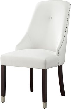 Set of 2 Inspired Home Kian Leather Dining Chair