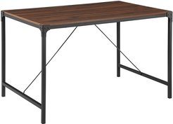 48in Industrial Dining Table