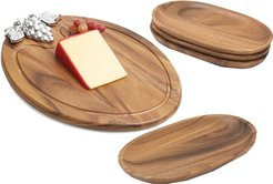 Woodard & Charles 5pc Serving Tray Set