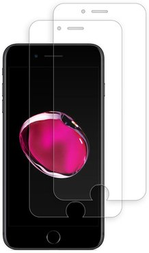 Tech Elements 2-Pack of Tempered Glass Screen Protectors for iPhone 8 Plus/7 Plus/ 6 Plus