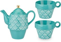 Pinky Up Taylor Bali Turquoise Tea for Two