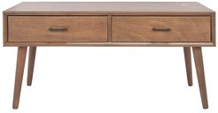 Safavieh Couture Mozart Mid Century 2 Drawer Coffee Table