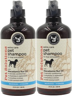 Precious Tails Pet Solutions Conditioning Pet Shampoo with Macadamia Nut Oil