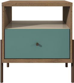 Manhattan Comfort Joy 1-Full Extension Drawer Nightstand