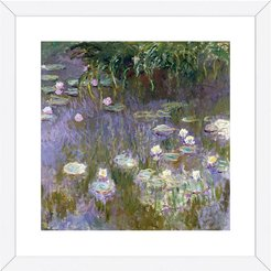 McGaw Graphics Water Lilies, 1922 by Claude Monet
