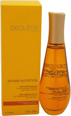 Decleor Unisex 3.3oz Aroma Nutrition Satin Softening Dry Oil