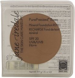Jane Iredale 0.35oz Caramel PurePressed Base Mineral Foundation Refill with SPF 20