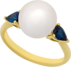 0.50 ct. tw. Sapphire Pearl Ring